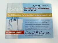 Kaplan Medical USMLE Pharmacology and Treatment Flashcards  - Second Edition