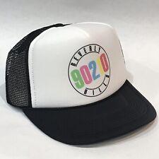 Beverly Hills 90210 Trucker Vintage 80's 90's Style Snapback Cap Luke Perry Blk