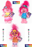 "DREAMWORKS TROLLS 2 - POPPY SOFT TOYS - 3 TO CHOOSE FROM - NEW/LICENCED 10"" 25CM"