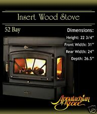 Appalachian 52 Bay INSERT Wood Stove Fireplace TRIM KIT