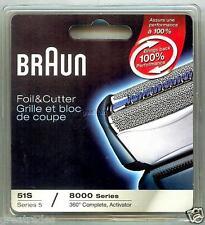 ORIGINAL BRAUN 360 COMPLETE 8995 8985 51S Shaver/Razor Foil & Cutter NEW!
