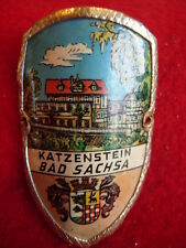 Bad Sachsa Katzenstein badge stocknagel hiking medallion G2644
