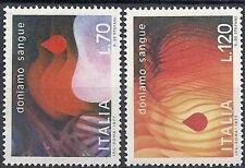 1977 ITALIA DONIAMO SANGUE MNH ** - ED