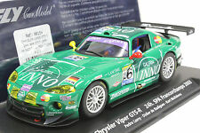 FLY A209L CHRYSLER VIPER GTS-R SPA FRANCORCHAMPS 03 NEW 1/32 SLOT CAR IN DISPLAY