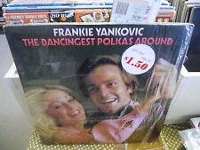 Frankie Yankovic Dancingest Polka Around vinyl LP VG+ Columbia 1973 in Shrink