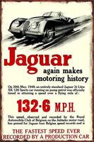 Metal Tin Sign jaguar poster  Decor Bar Pub Home Vintage Retro