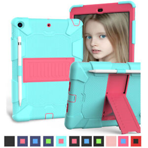 Fr iPad 10.2 8th 7th Generation 2020 Shockproof Heavy Duty Hard Case Stand Cover