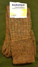 New Mens Wool Blend Long Ribbed Wellington Boot Socks With Turnover 10-11.5