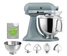 KitchenAid Artisan Küchenmaschine - Neue Farbe Nebelblau 5KSM175PSEMF + Zubehör
