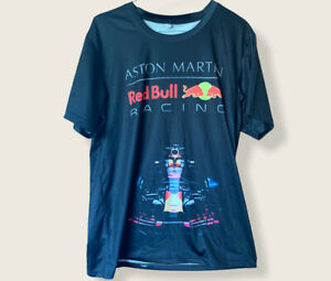 Aston Martin F1 Red Bull Racing Supporters T-Shirt Size Large