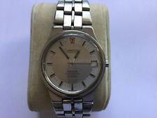 Vintage S/S Mans Omega Constellation Electronic f300Hz Bracelet Watch No Reserve