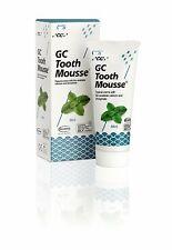 Gc Tooth Mousse Gct004sp Crème topique À la Menthe Répare et Renforce 40 G