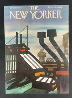 COVER ONLY ~ The New Yorker Magazine, February 9, 1976 ~ Arthur Getz