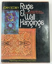 Antique Rugs & Wall Hangings by Joan Scobey Book 1974 Antique Fine New York