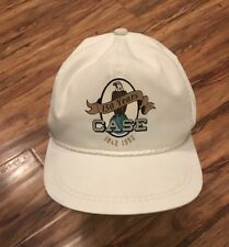 Vintage White Case Tractor 150 Years Strapback Hat Cap MADE IN USA Farming 1992
