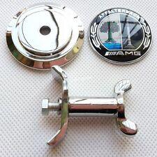 NEW Color Affalterbach Mercedes Hood Bonnet Badge Emblem AMG W204 W221 W220 W211