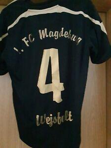 1. FC MAGDEBURG Trikot WEJSFELT Nr. 4