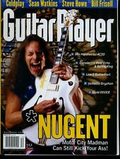 Ted Nugent Guitar Player Magazine December 2002