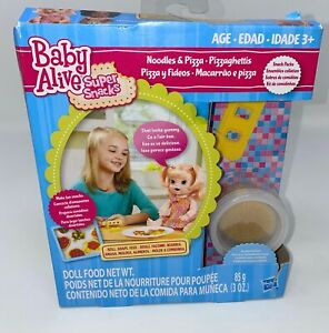 Baby Alive Super Snacks Noodles and Pizza Set Add on Pack