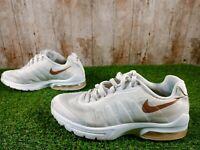 Nike Air Max Invigor White Metallic Gold Womens Size 5 UK 38 Eur