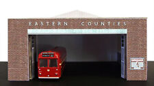 Kingsway, 00 scale, Ipswich Eastern Counties bus depot,  Kit build service.