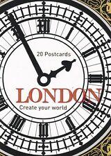 LONDON COLOURING BOOK: 20 POSTCARDS TO COLOUR PREMIUM QUALITY