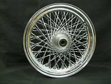 "Chrome Ultima 80 Twisted Spoke 16x3"" Front Wheel for 1984-1999 FXST and FXDWG"