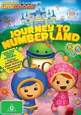 TEAM UMIZOOMI : JOURNEY TO NUMBERLAND-  DVD - Region 2 UK Compatible -  sealed