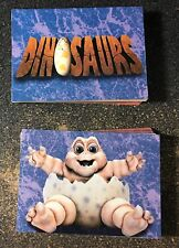 1992 Pro Set Dinosaurs Complete Trading Cards Trivia Puzzle Set TV Show