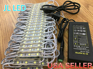 100pcs 5054 LED Module+6A Power Supply For STORE FRONT Light Window Sign LAMP