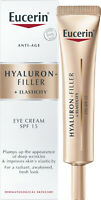Eucerin Hyaluron-Filler + Elasticity Eye SPF 15 anti-age eye cream 15ml