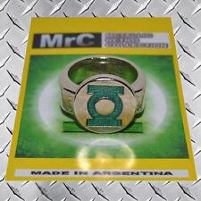 Replica Green Lantern Metal Ring Hal Jordan Alan Scott Guy Gardner Sinestro Jade