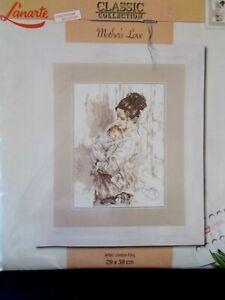 """Cross Stitch Kit """" Mothers Love """" New by Lanarte 34922"""