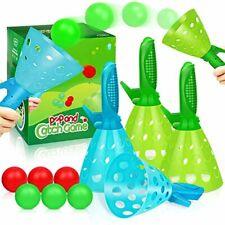 Duckura Outdoor Indoor Game Activities for Kids, Pop-Pass-Catch Ball Game with 4