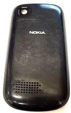 Nokia Asha 201 Cellphone Battery Door Back Cover Housing Case Black OEM