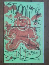 Jumping Comic #1 Limited Ed (of 300) Risograph Zine Zacchilli Deforge Kyle NM