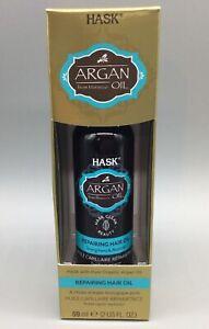 Hask Argan Oil Repairing Hair Oil From Morocco  59 ml New