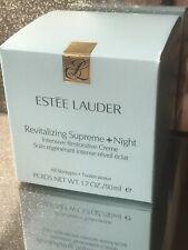 Estee Lauder Revitalizing Supreme + Night Creme 50ml Brand New