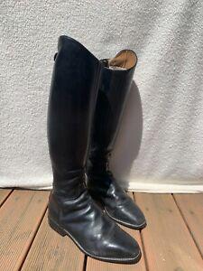 Cavallo Leder Reitstiefel Größe 40 schwarz originalverpackt