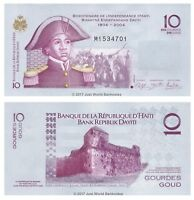 Haiti 10 Gourdes 2012 P-272e Banknotes UNC