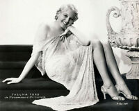 198-t Film Favorite THELMA TODD Color-Tinted PHOTO