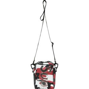 Supreme Neck Pouch Red Camo S/S 21 Week 1