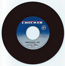 GOSPEL 45 THE SOUL STIRRERS CHRISTMAS JOY ON CHECKER STRONG VG ORIGINAL