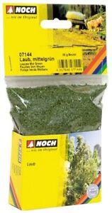 NOCH 07144 - G,0,H0,Tt,N,Z Leaves,Medium Green,50 G Bag (7,98 €/ 100g) - New