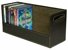 Stock Your Home DVD Storage Box with Powerful Magnetic Opening - DVD Tray Holds