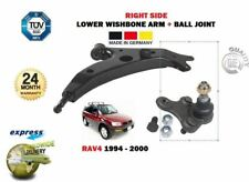 FOR TOYOTA RAV 4 1994-2000 FRONT RIGHT WISHBONE SUSPENSION ARM + BALL JOINT