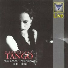 ANJA LECHNER (CELLO)/PETER LUDWIG - MAGNETIQUE TANGO NEW CD