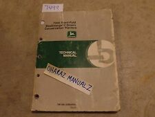 * John Deere 7200 Front Fold Max-Emerge 2-Drawn Planter Technical Manual TM1366