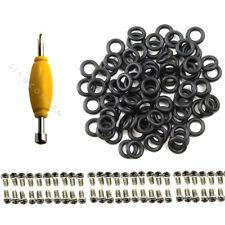 "Lot50pcs Screws & 50 O-Rings Bands For 3.75"" GI Joe Cobra Custom figure repair"