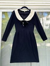 New listing Vintage 1950'S Black Anita Modes Dress Size 14
